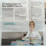 Ine Linssen van StudieKeuze Academie met interview in De Ondernemer